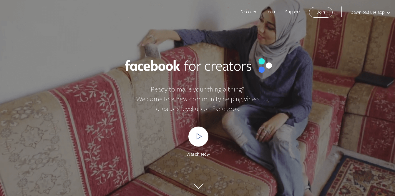 Facebook for Creator