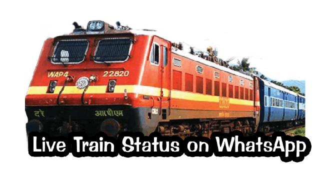 train live status whatsapp