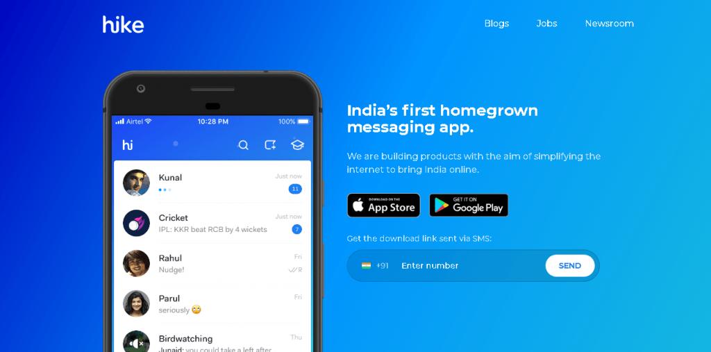 Indian Messaging App Like WhatsApp