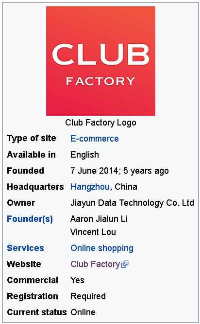 club factory 1 rupee sale real or fake