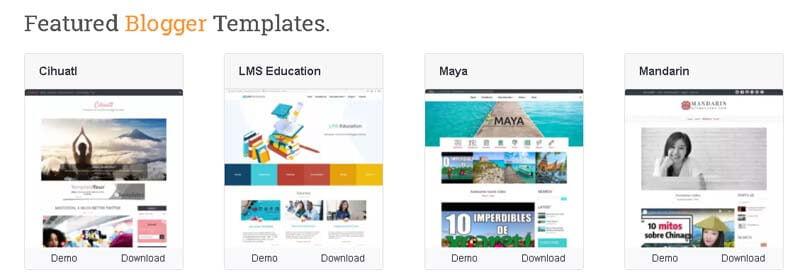 free blog templates btemplates